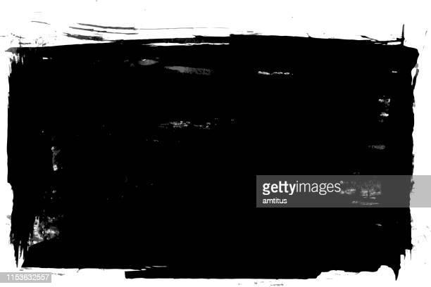 ilustraciones, imágenes clip art, dibujos animados e iconos de stock de parche de pintura negra - patchwork