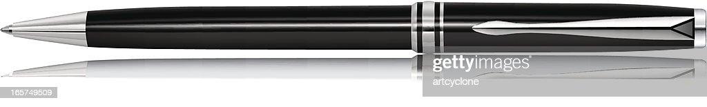 Black Pen : stock illustration