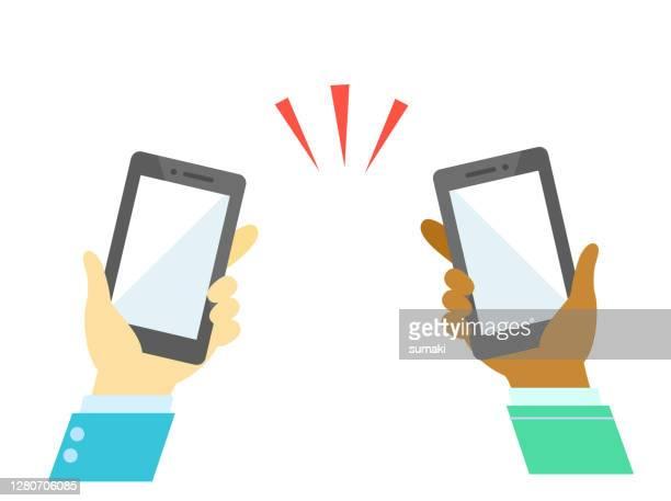black people smart phone communication
