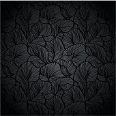 Black plant texture