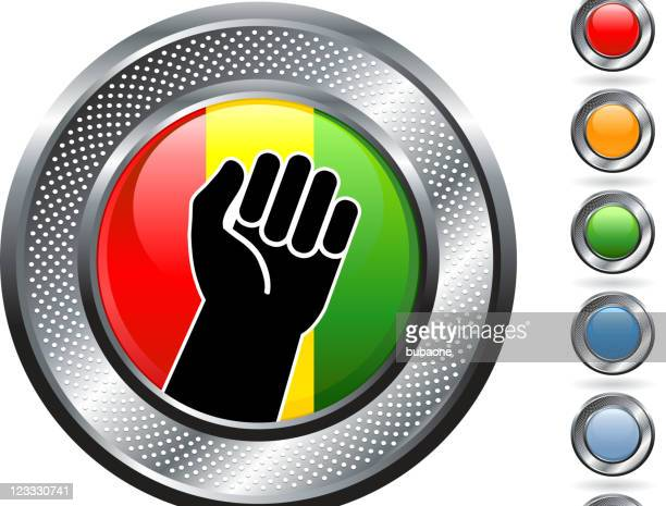black power royalty free vector art - black power stock illustrations