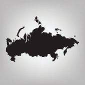 Black Russia map