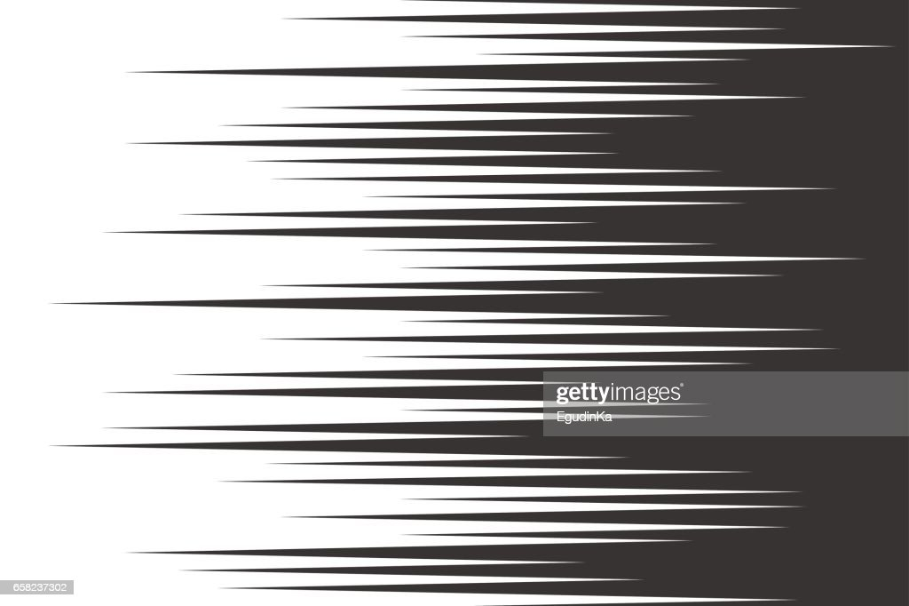 Black speed horizontal lines