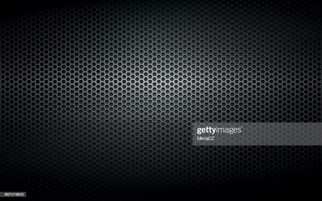 black steel metal plate background
