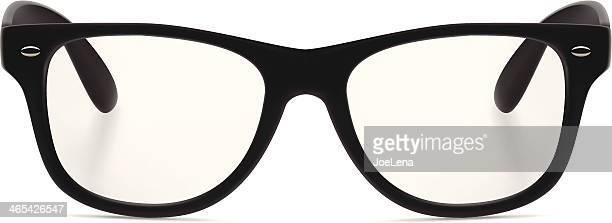 ブラックのサングラス