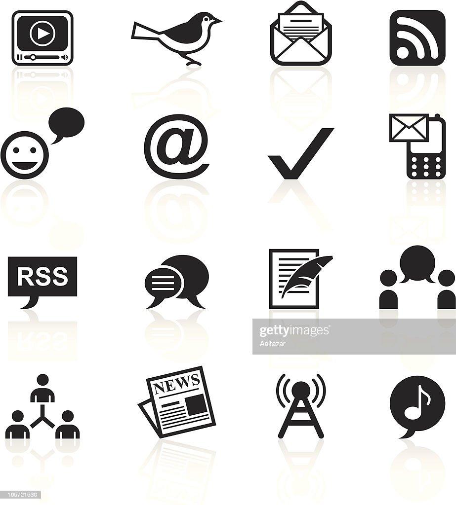 Black Symbols - Blogging
