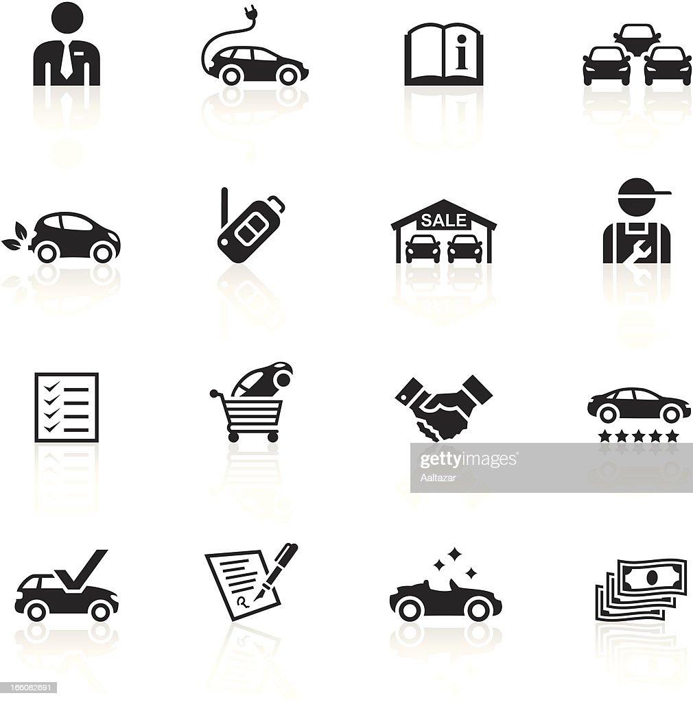 Black Symbols Car Dealership Vector Art Getty Images