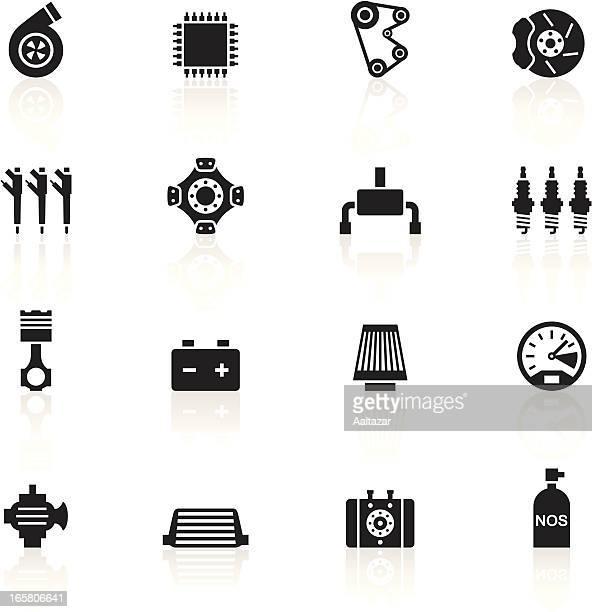 Black Symbols - Car Performance Parts