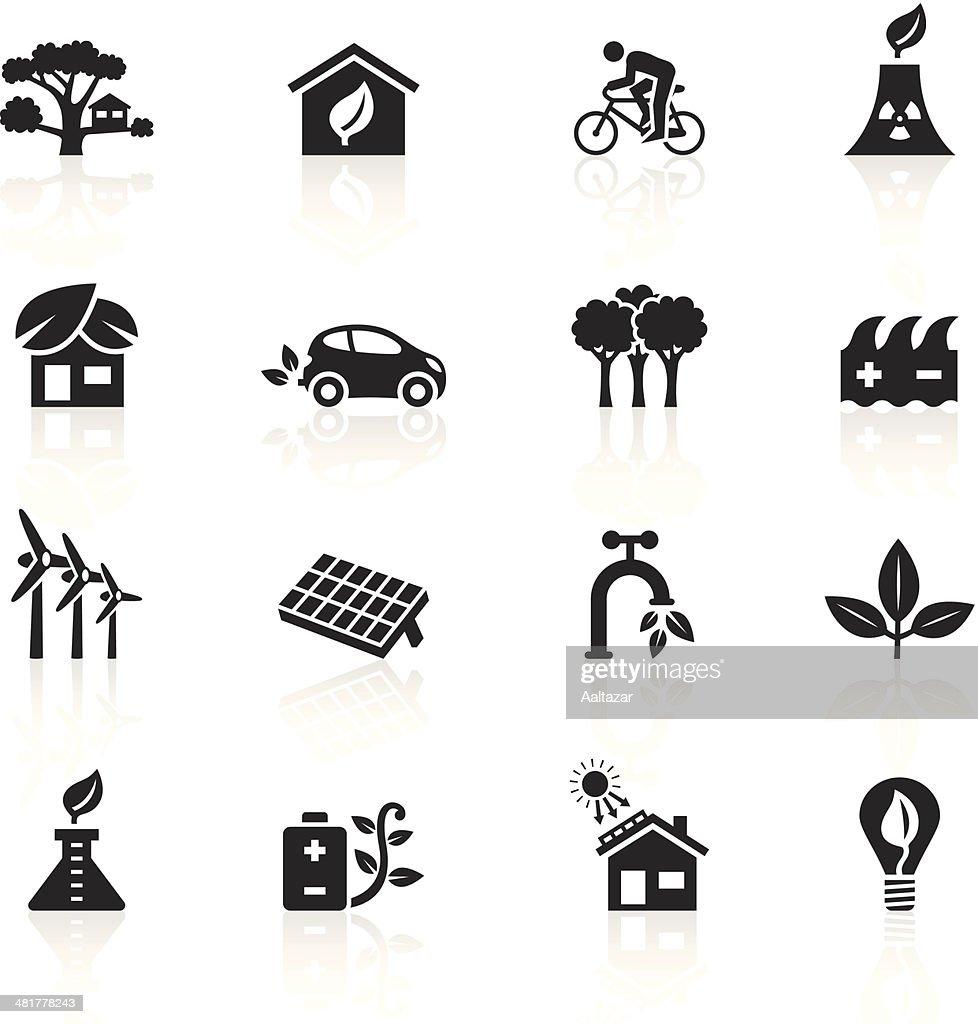 Black Symbols - Clean & Green