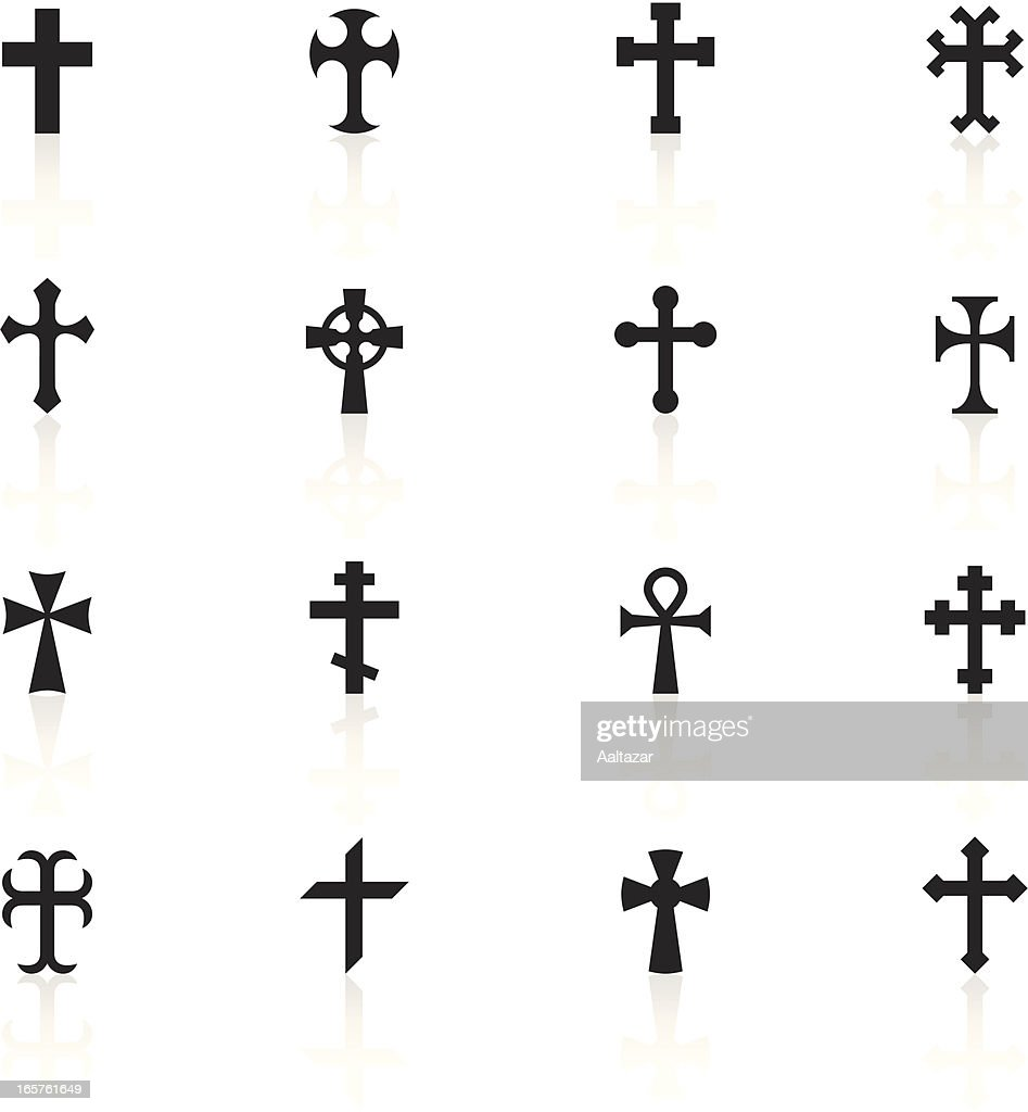 Black Symbols - Crosses
