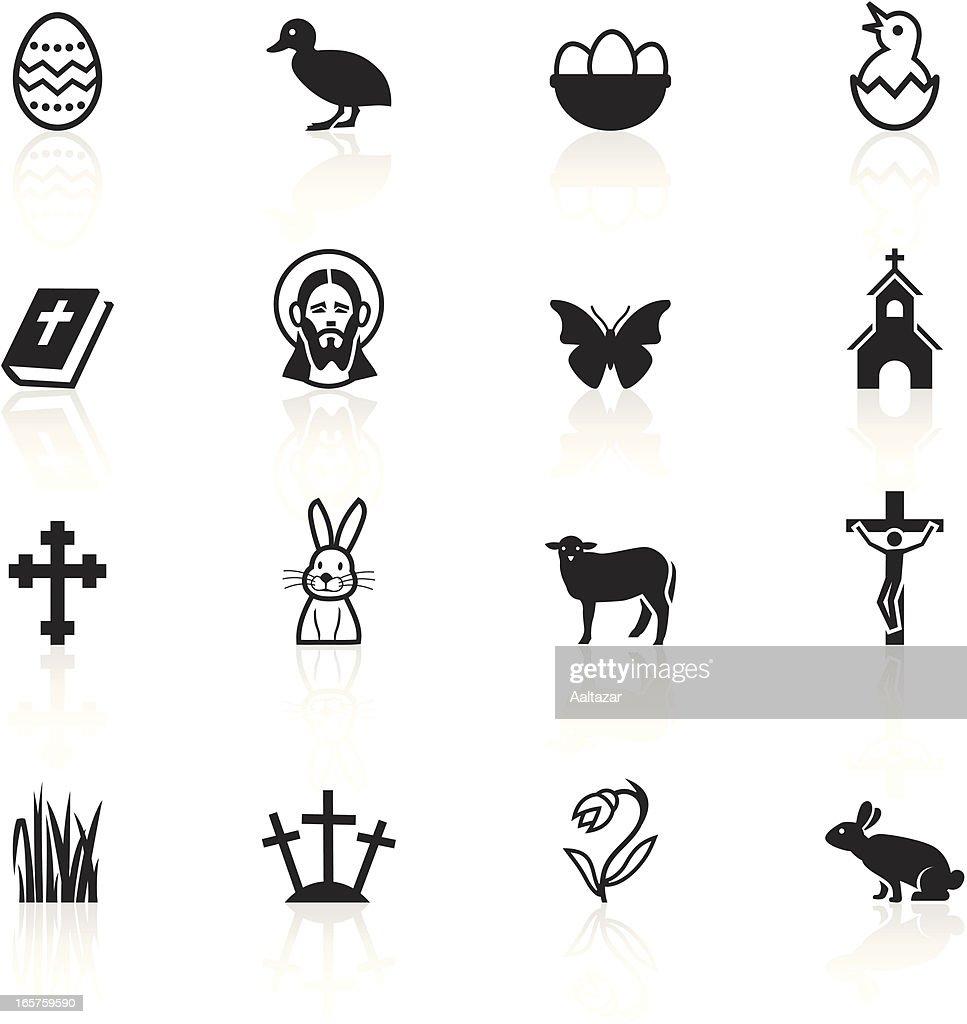 Black symbols easter vector art getty images black symbols easter biocorpaavc