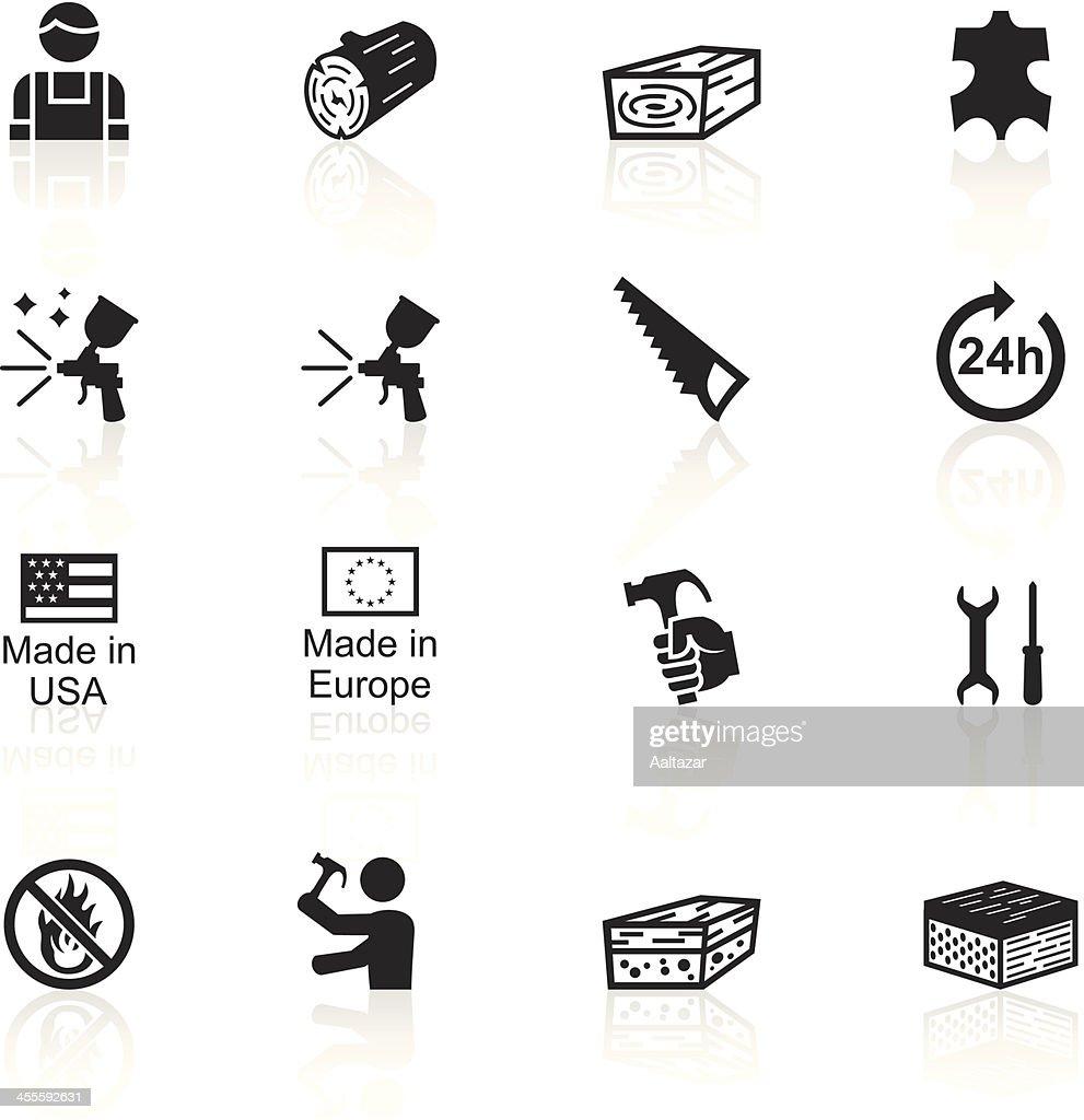 Black Symbols - Furniture Fabrication