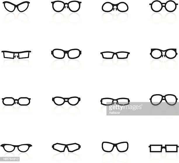 Black Symbols - Glasses