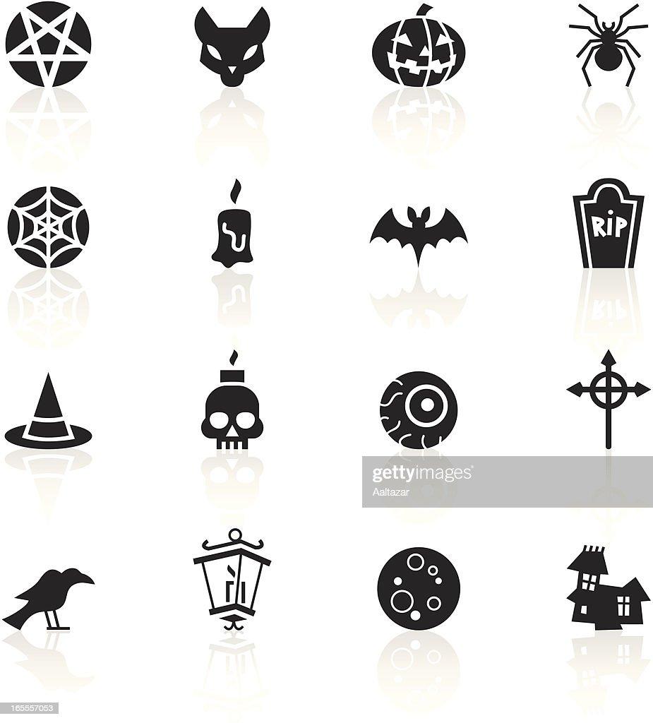 Black Symbols - Halloween