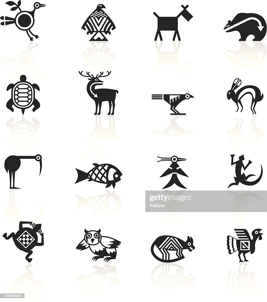 Yellow signs indian tribal animals vector art getty images keywords biocorpaavc Gallery