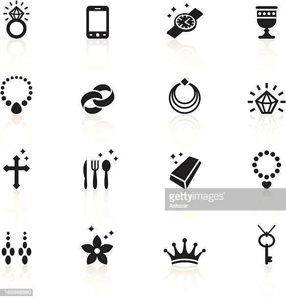 Black Symbols - Jewellery