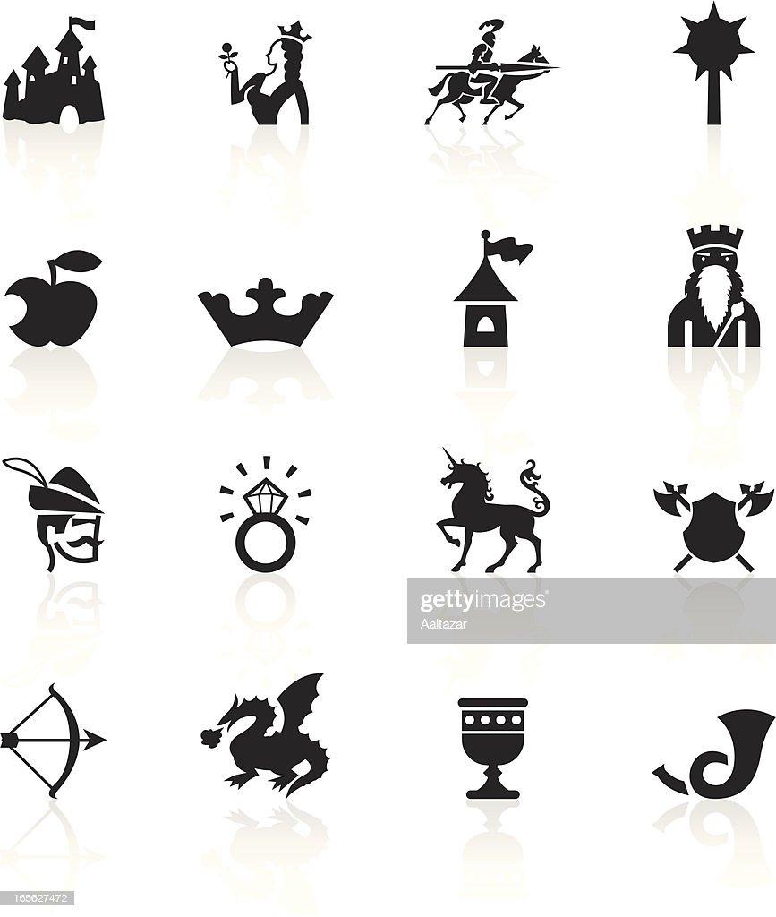 Black Symbols - Medieval Fairytale