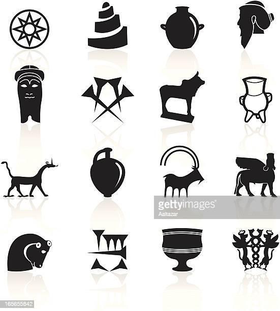 Black Symbols - Mesopotamia