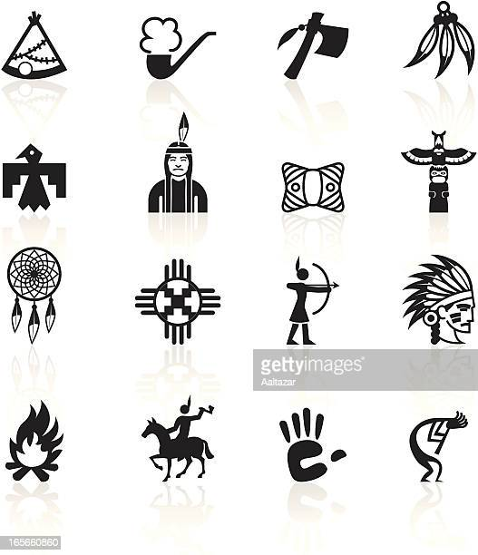 Black Symbols - Native American