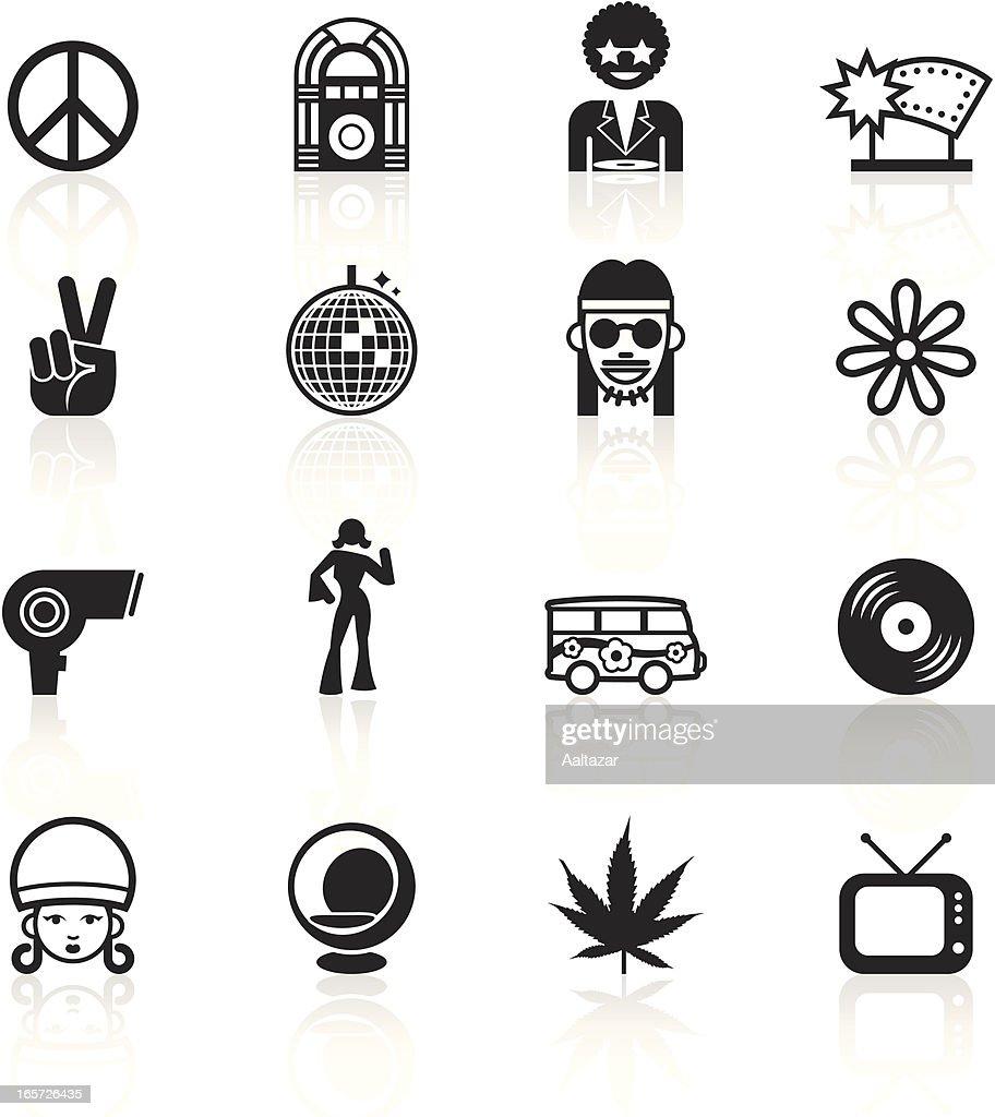 Black Symbols - Retro