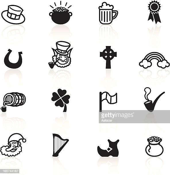 Black Symbols - Saint Patrick's Day