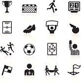 Black Symbols - Soccer
