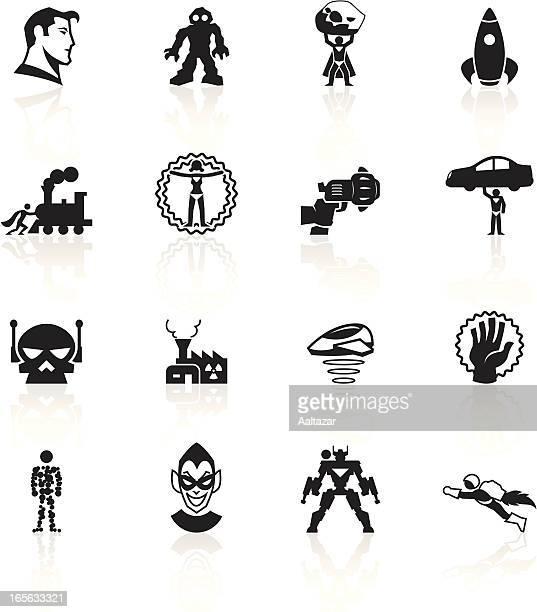Black Symbols - Superhero