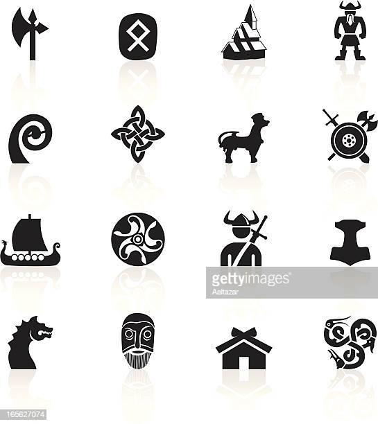 黒色記号-バイキングス - バイキング点のイラスト素材/クリップアート素材/マンガ素材/アイコン素材