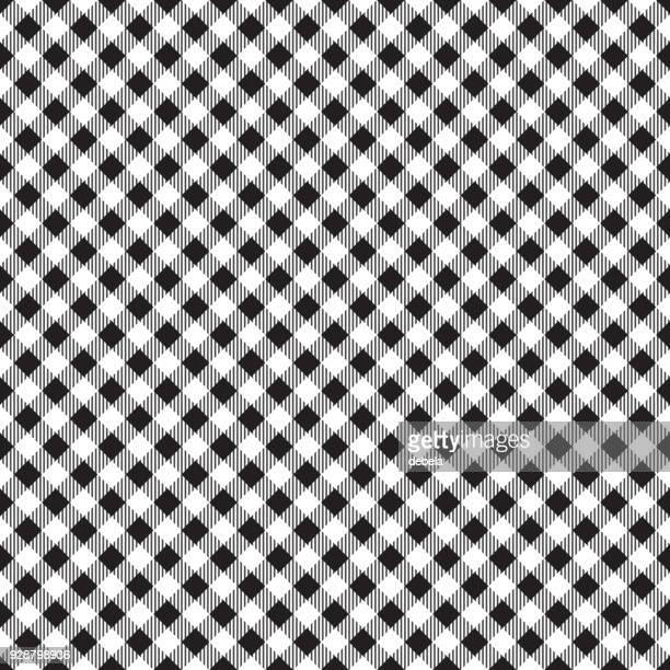 black tablecloth argyle pattern - scottish tweed stock illustrations, clip art, cartoons, & icons
