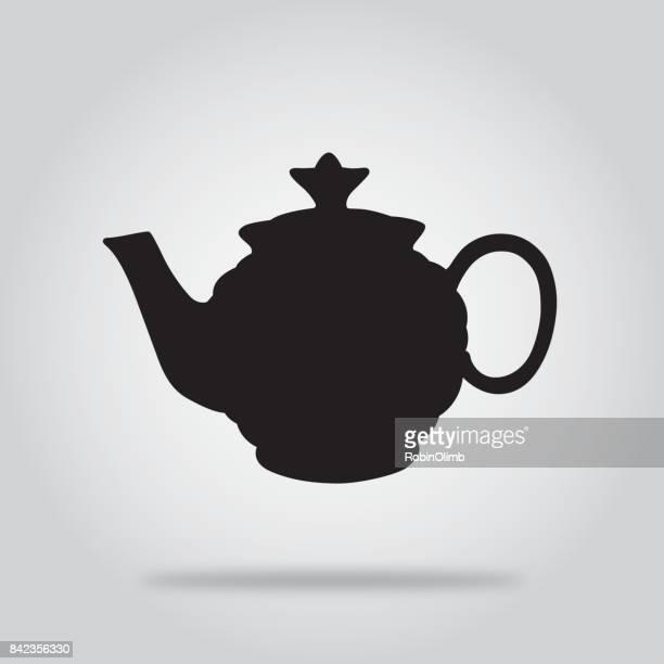 Black Teapot Icon 8