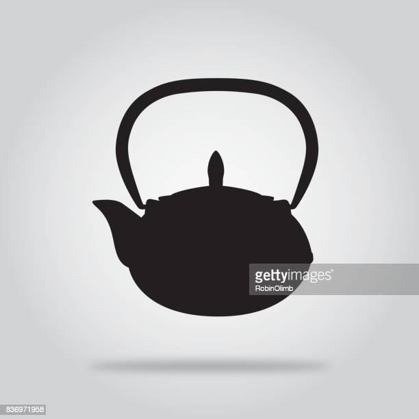 Black teapot Icon