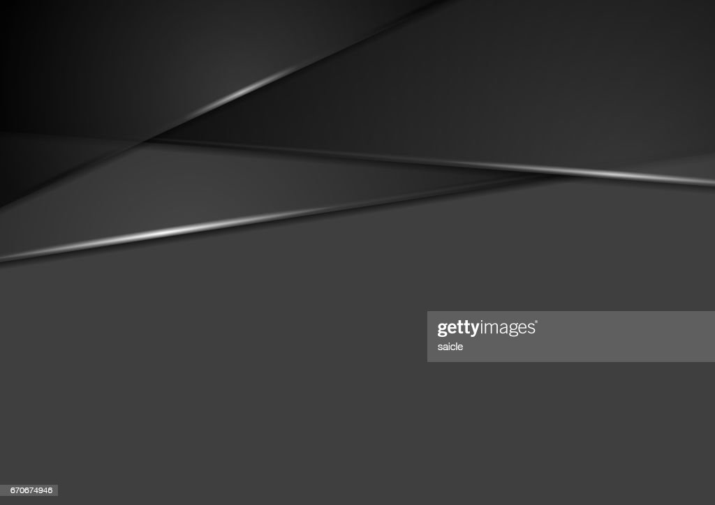 Black tech corporate stripes abstract background