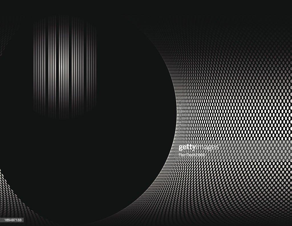 Black Techno Background
