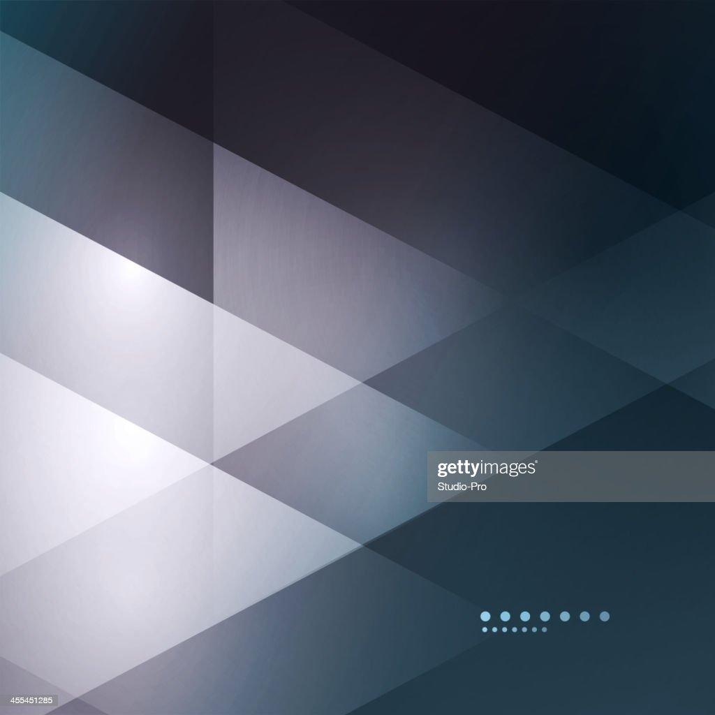 Black to white illustrating of modern geometric mosaic : stock illustration