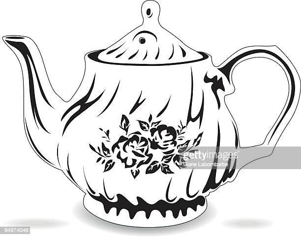 Black & White teapot