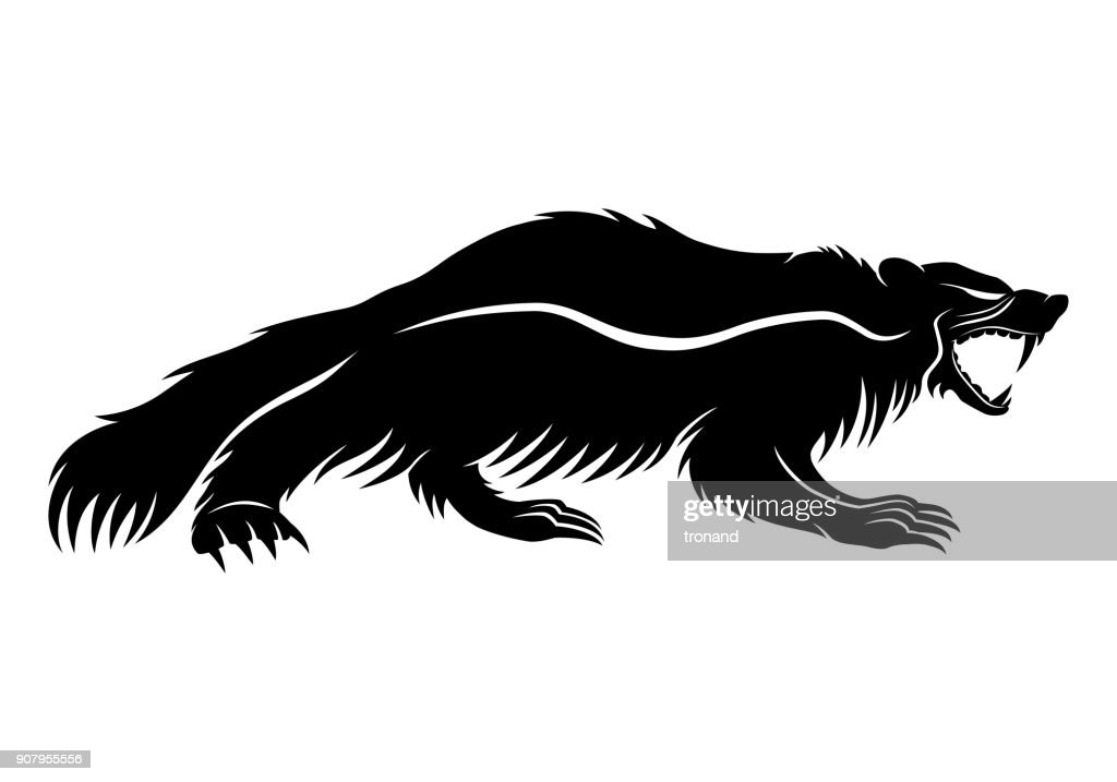Black wolverine sign.