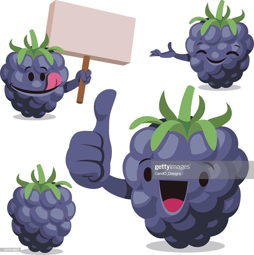 blackberry cartoon set c vector art getty images