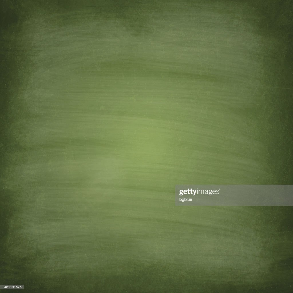 Blackboard - Chalkboard green empty
