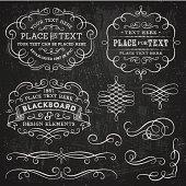Blackboard Design Elements