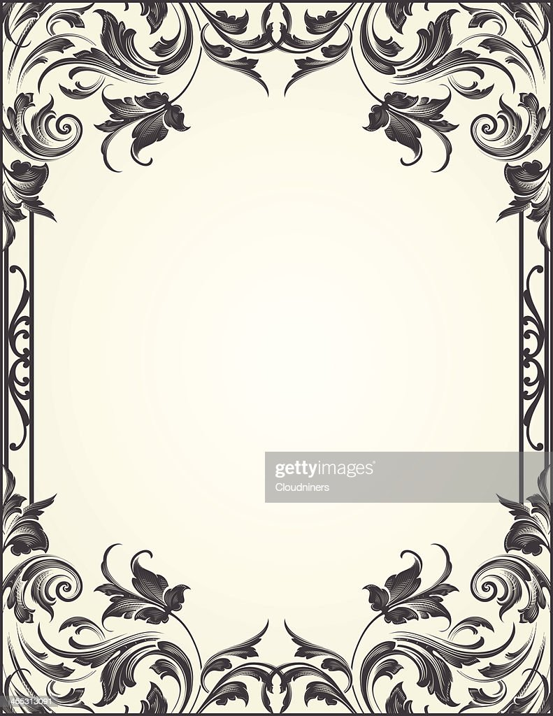 Blackleaf Flourish Frame