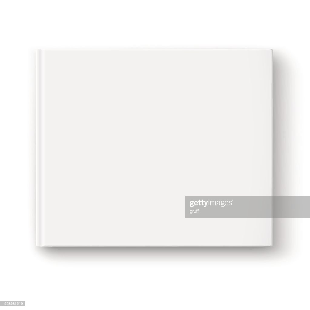 Blank album template.