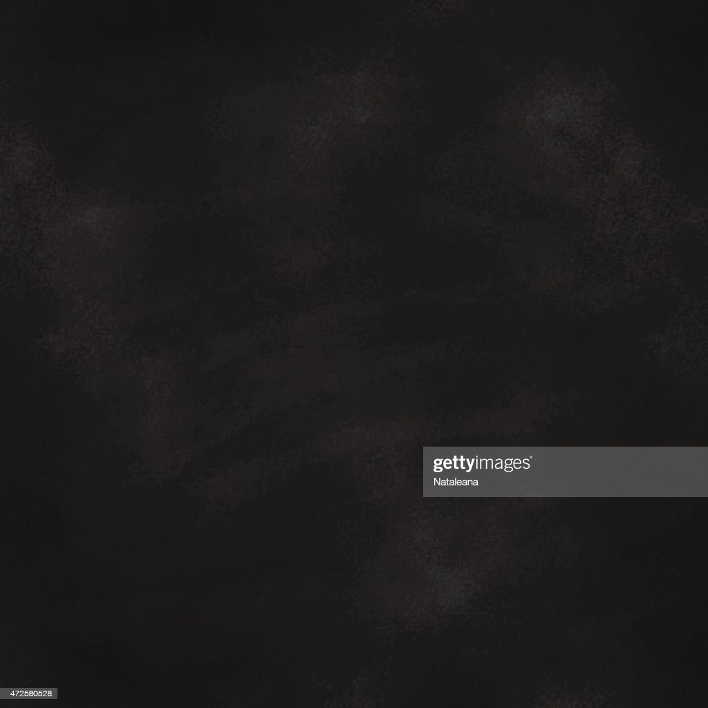 Blank black chalkboard freshly erased