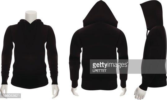 Vest black and white clipart