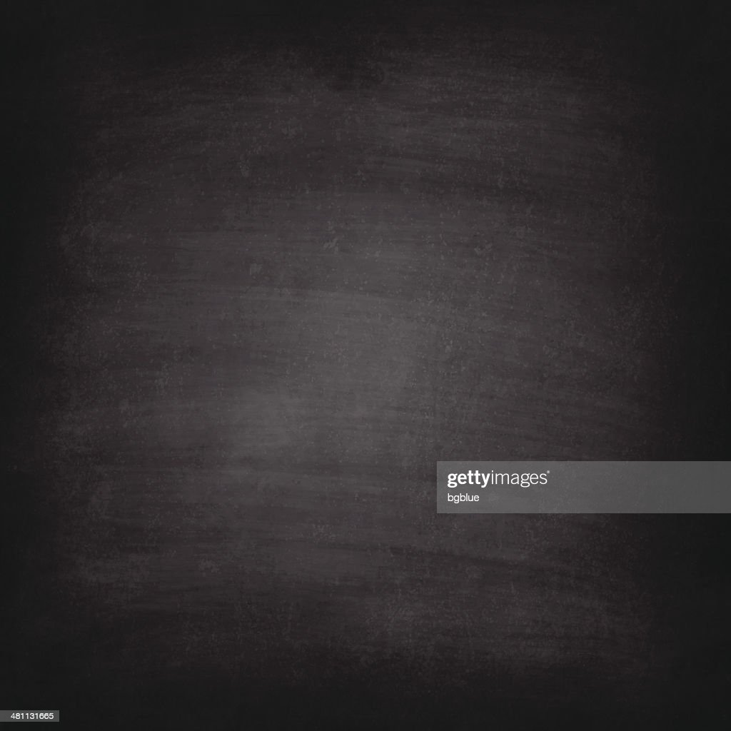 Blank blackboard texture with chalk traces