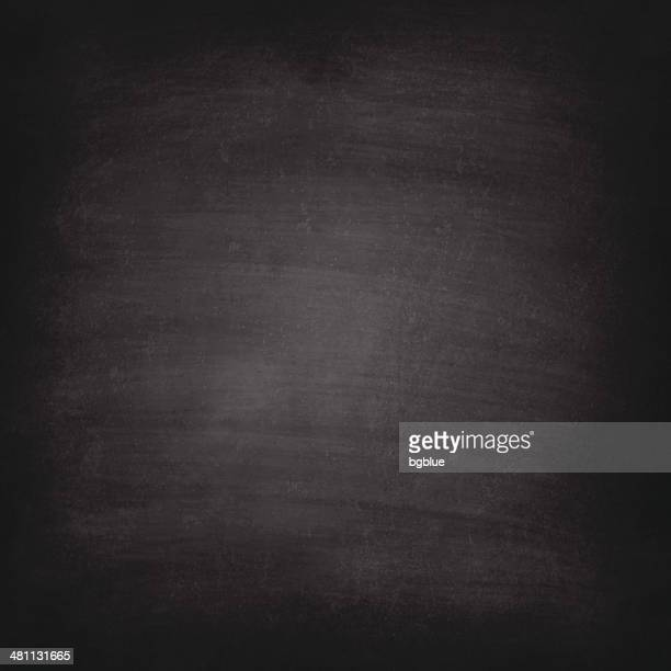 blank blackboard texture with chalk traces - chalk art equipment stock illustrations, clip art, cartoons, & icons