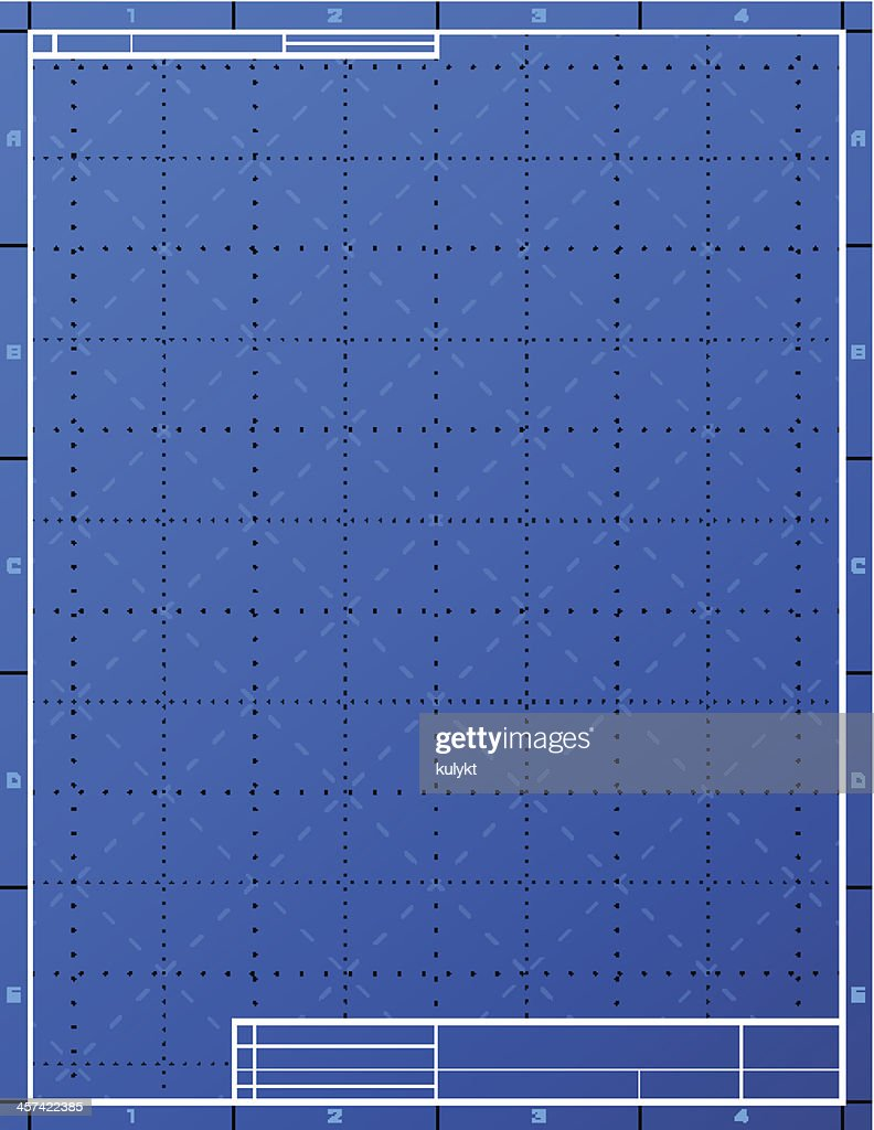 Blank blueprint paper for drafting vector art getty images blank blueprint paper for drafting vector art malvernweather Images
