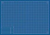 blank blueprint paper vector art getty images