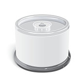 blank CD container