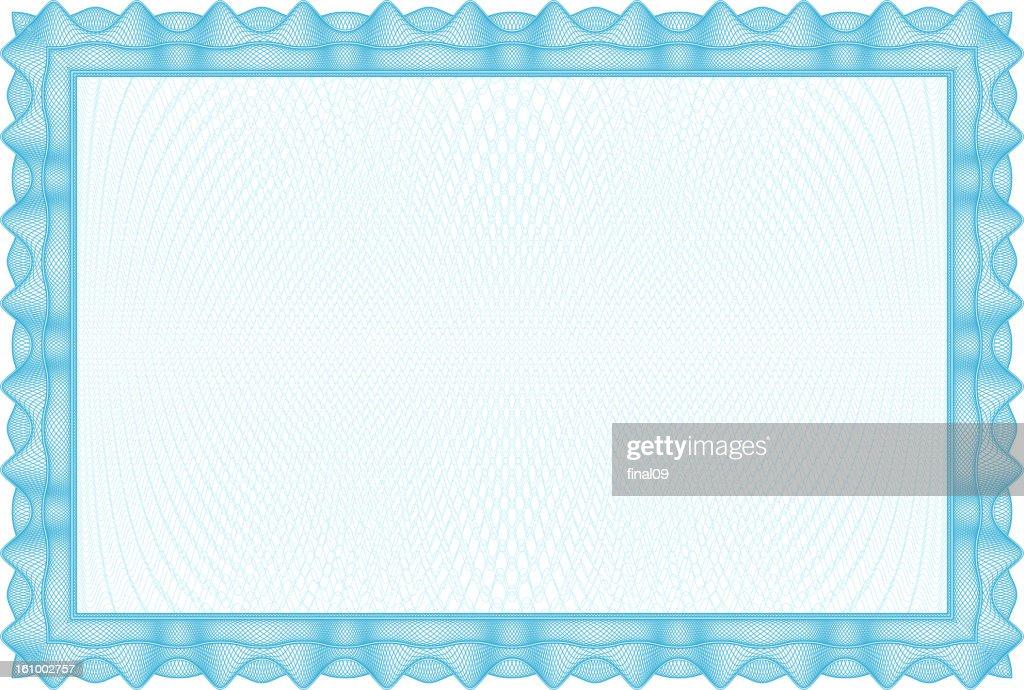 Blank Certificate and diplomas