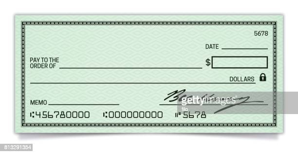 blank check - cheque stock illustrations, clip art, cartoons, & icons
